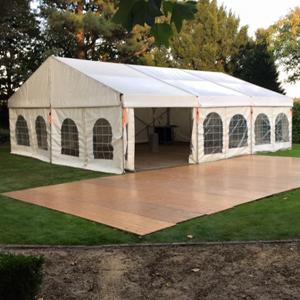 Aluhal of alu tent | Aluhal en tenten verhuur | Hamburg Verhuur